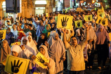 Anti-coup demonstration in Egypt